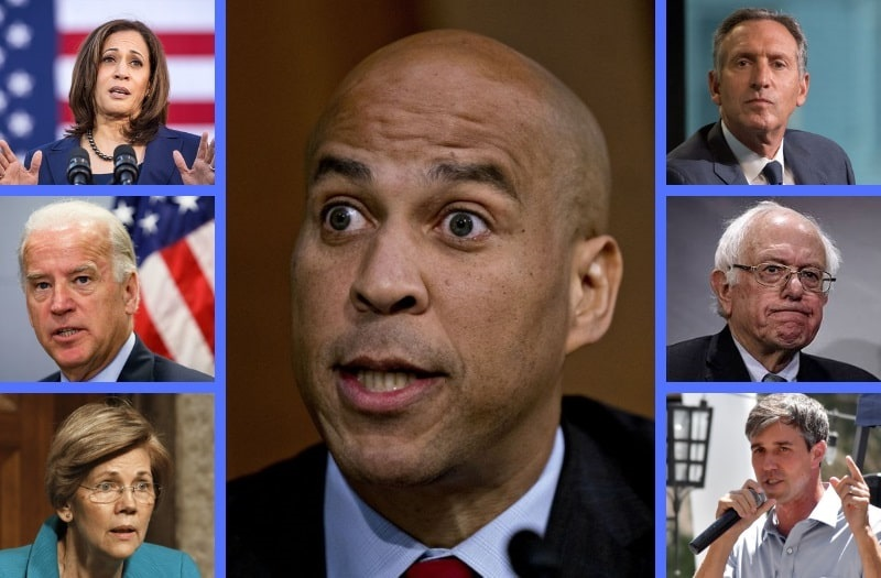 Democratic 2020 Hopefuls Face Demons of Their Own