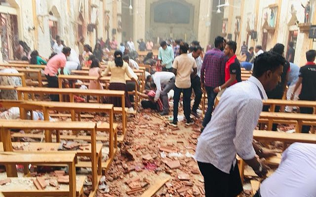 Terror Attack in Sri Lanka – Easter Mass Targeted
