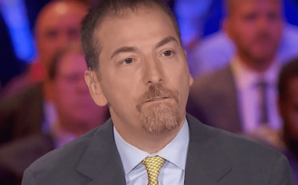 Chuck Todd Is Appalled That You Won't Let Him Define the News