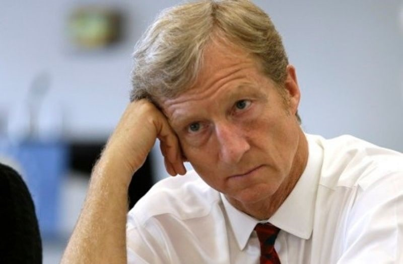 Steyer's Presidential Dream Goes Belly Up
