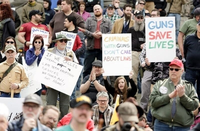 Virginia Set for Showdown at Gun Rights Rally