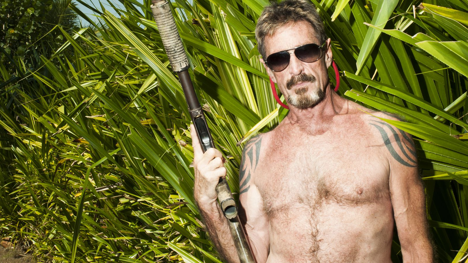 The Uprising Podcast: John McAfee - Peanut Butter, Raisins and Glock 17s