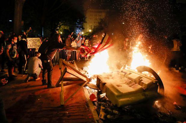 A Second Civil War? Last Night in America