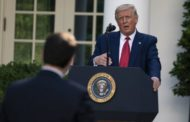 Trump Fakes Out Media in Rose Garden Relaunch