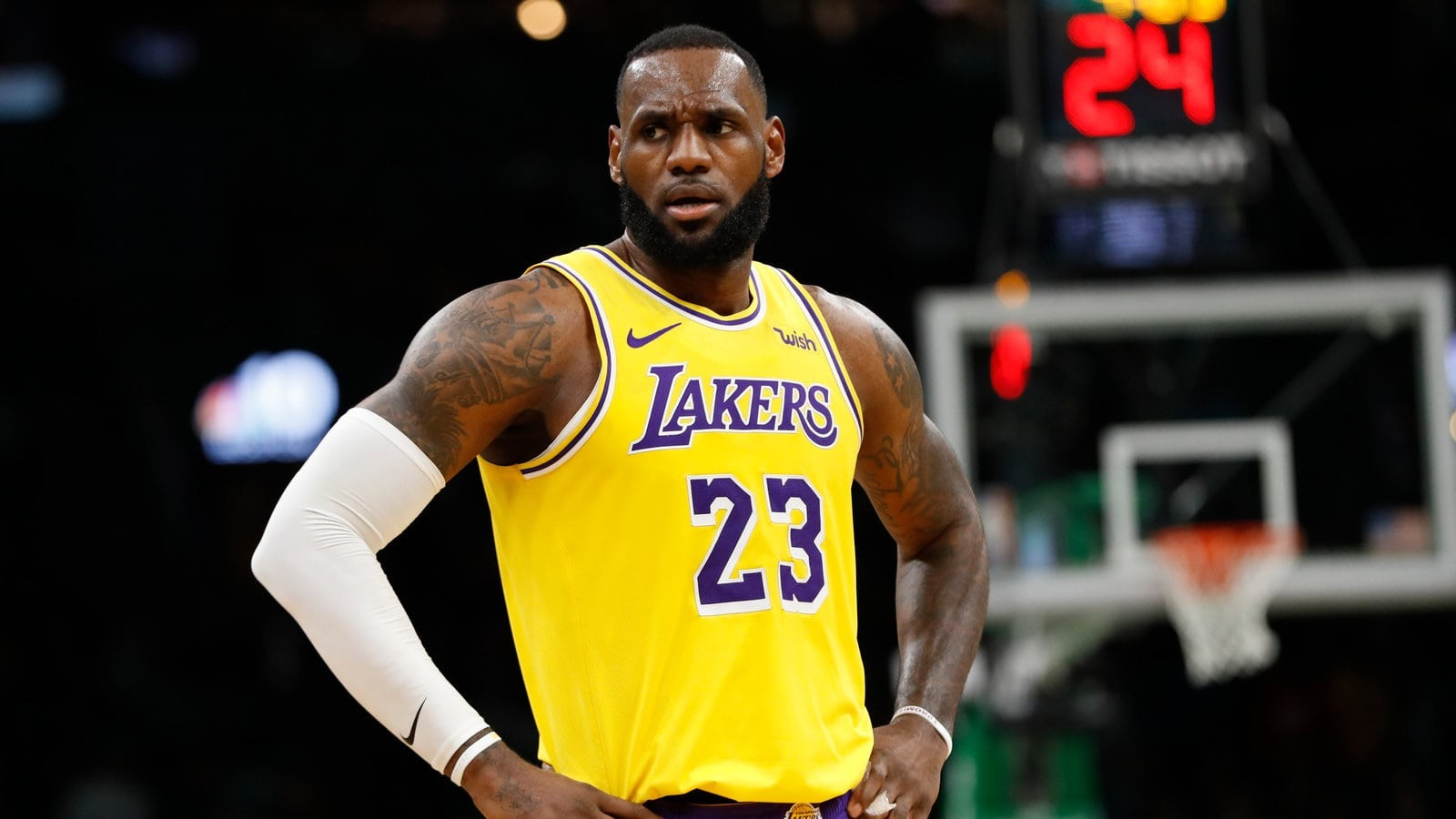 LeBron James Has His Maxine Waters Moment