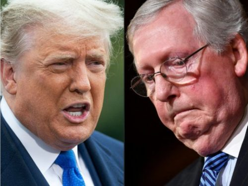 LN Radio 4/18/21 - Trump the Rock vs. McConnell the Hard Place