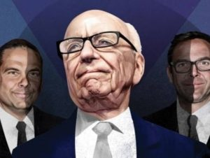 Fox News Changes a Result of Murdoch Family Power Plays