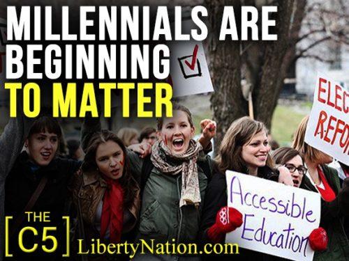 Millennials Are Beginning to Matter - C5