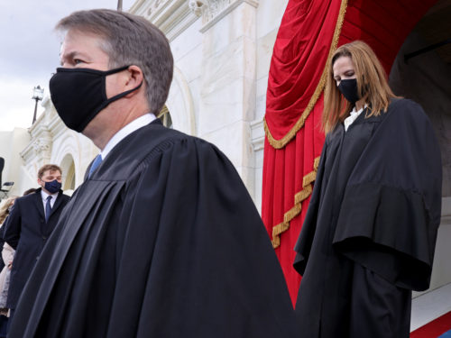 BREAKING: Justice Kavanaugh Tests Positive for COVID