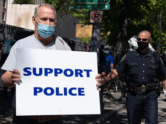 Seattle Police Decimated by Defunding and Vaccination Mandates